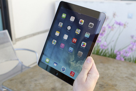 iPad Air review: The best tablet gets better   TechHive   Daring Gadgets, QR Codes, Apps, Tools, & Displays   Scoop.it