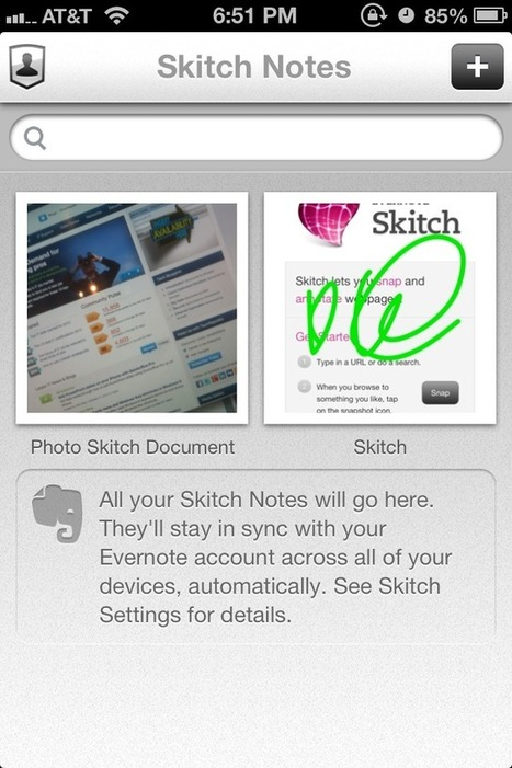 Annotate and manage images on your iPhone with Skitch | TechRepublic | Tools You Can Use | Scoop.it