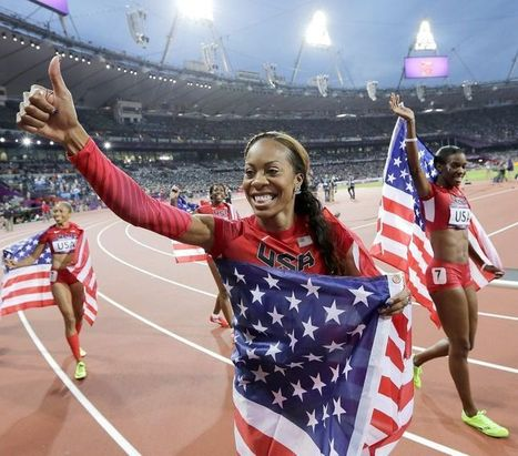 Hall of Fame profile: Sanya Richards-Ross refuses to lose | Sprinticity | Scoop.it