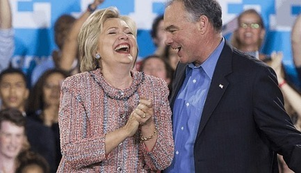 #ItsNotAboutWhatSheSAYSbutWhatSheDOES : Doubling Down on #WallStreet:  #Hillary and #TimKaine - Counterpunch | News in english | Scoop.it