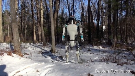 Boston Dynamics Reveals Next Generation Atlas Robot - SERIOUS WONDER | Design to Humanise | Scoop.it