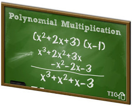 Matemáticas con Tecnología: Algebraic Operations: Polynomial Multiplication. | Mathematics learning | Scoop.it