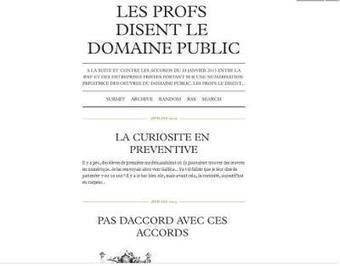 La privatisation du domaine public à la BnF, symptôme d'un désarroi stratégique | Web 2.0 et société | Scoop.it