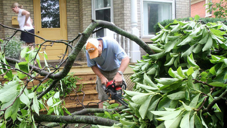 Ontario, Quebec clean up after powerful storms - CBC.ca | Natural Disasters | Scoop.it