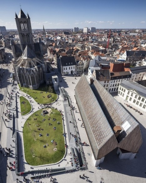 [Ghent, Belgium] Market Hall in Ghent / Marie-José Van Hee + Robbrecht & Daem | The Architecture of the City | Scoop.it
