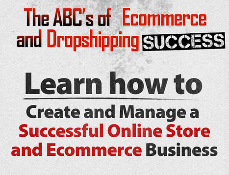 The ABC's of Ecommerce and Dropshipping Success Ebook | Web Design | Scoop.it