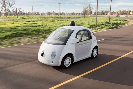 Is Google is teaching its self-driving cars to share the road with cyclists? | Bicycle Safety and Accident Claims in CA | Scoop.it