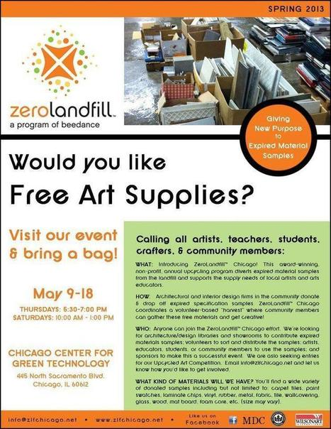 Twitter / CFEgrants: Free upcycled art supplies ... | VintageLifeStyle | Scoop.it