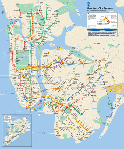 What Transit Maps Reveal About Cities | visual data | Scoop.it