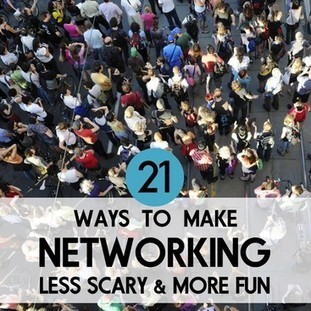 21 Ways to Make Networking Less Scary and More Fun | Passport 4 Success | Scoop.it