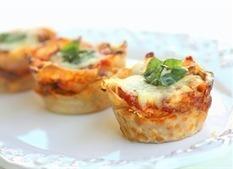 Lasagna Cupcakes on Fetch My Recipe | Beefy Beef | Scoop.it