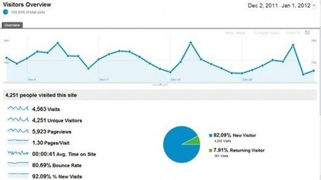 How to use Google Analytics to Drive more Traffic to Your Website | Web Analytics and Web Copy | Scoop.it