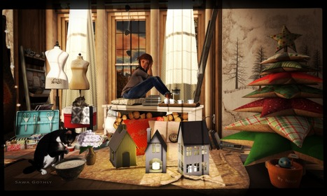 everyone should take time to sit ... | Second Life Sawa's Style | Scoop.it