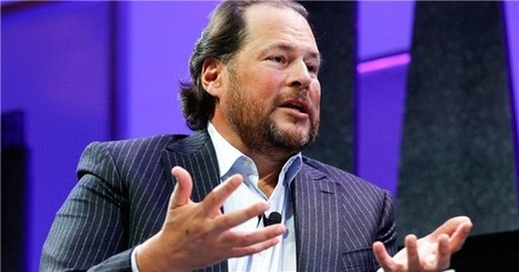Salesforce s'est fait souffler Linkedin par Microsoft | Actualité du Cloud | Scoop.it