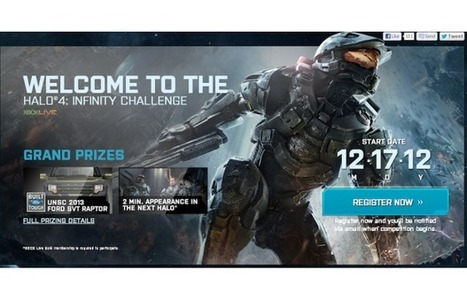 "Xbox 360 and Virgin Gaming Join Forces to Launch ""Halo 4"" Infinity Challenge - Complex.com (blog) 