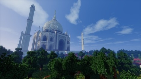 Huge Minecraft Adventure Map Stars the Wonders of the Ancient World - Kotaku | The World of Minecraft | Scoop.it