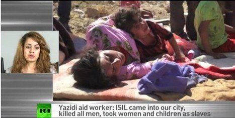 Children born to ISIL sex slaves are taken to be trained into murderers – Yazidi aid worker - Intifada Palestine | U.S. Politics | Scoop.it