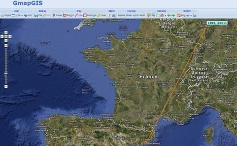 GMapGIS, dibuja sobre tus Google Maps y compártelos | Historia y Mapas | Scoop.it