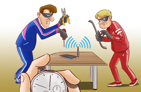 These German Guys Can Crack Your iOS Hotspot Password in a Minute | Sizzlin' News | Scoop.it