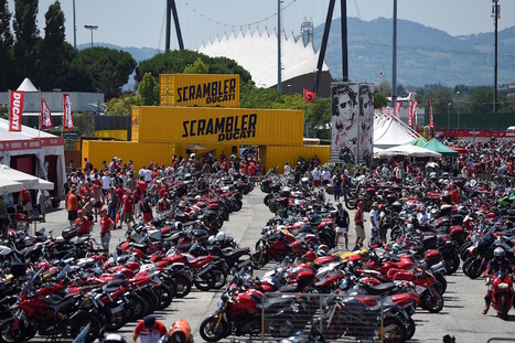 World Ducati Week 2016: it's a Ducati Scrambler Reunion! | Motorcycle Industry News | Scoop.it