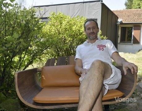 Vosges : changement de vie réussi pour Dominique Gérard, ancien fromager ambulant qui s'est reconverti dans le meuble design | CODIFAB | Scoop.it