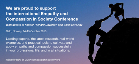 Empathy and Compassion in Society: Professional Conference held by the Tenzin Gyatso Institute | Compassion | Scoop.it