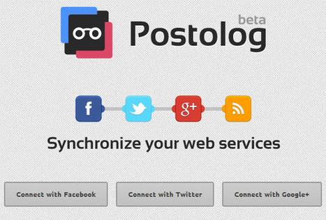 Sincroniza Google Plus con Facebook y Twitter gracias a Postolog ...   DDhayanna   Scoop.it