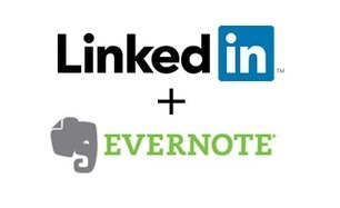 Evernote + LinkedIn: Powering Professional Relationships | curation | Scoop.it