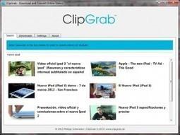 ClipGrab: descarga sencilla de videos | Herramientas TIC para el aula | Scoop.it