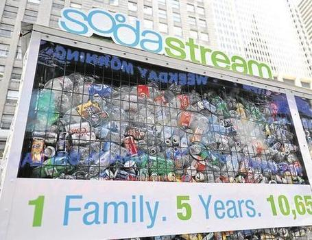 "Le guérilla marketing de Sodastream face aux géants du soda | Argent et Economie ""Autrement"" 