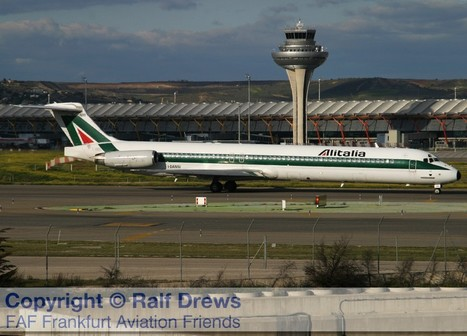27.10.2012: Last Alitalia MD-82 Service | Aviation & Airliners | Scoop.it