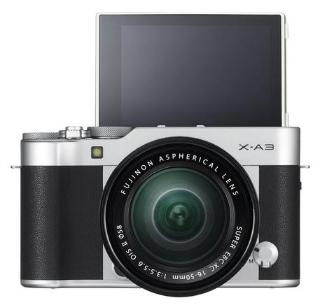 Fujifilm X-A3, hybride à écran orientable tactile pour selfies faciles - Focus Numérique | Les X de  Fuji | Scoop.it