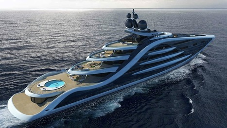 This Could Be One of the World's Largest Superyachts | Architectural Digest | LibertyE Global Renaissance | Scoop.it