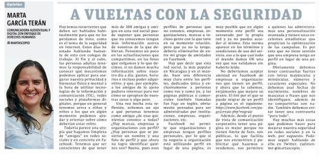 A vueltas con la seguridad | Redes sociales y Social Media | Scoop.it