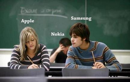 RT#MrWellsICT: Brilliant! #Apple #Samsung ... | Modern Educational Technology and eLearning | Scoop.it