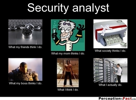 Security Analyst | What I really do | Scoop.it