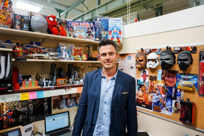 Meet The Most Powerful Force In The Star Wars Universe: The Man Who Makes The Toys | Machinimania | Scoop.it