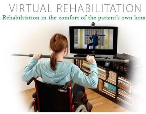 Fisioterapia en el hogar por telerehabilitación - eHealthNews | eSalud Social Media | Scoop.it