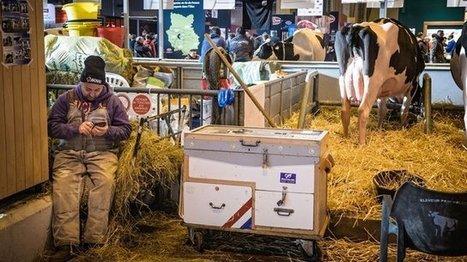 L 'agriculture à l'heure du numérique au Salon de l'agriculture - France 3 Aquitaine | Agriculture en Dordogne | Scoop.it
