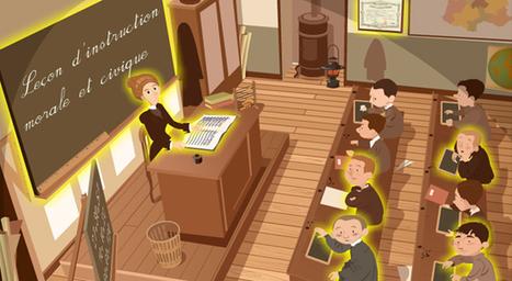 L'histoire de l'école expliquée aux enfants | Recursos para Francés | Scoop.it