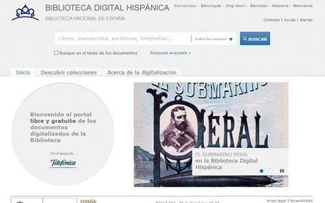 Biblioteca Digital Hispánica con miles de documentos digitalizados | Psicología desde otra onda | Scoop.it