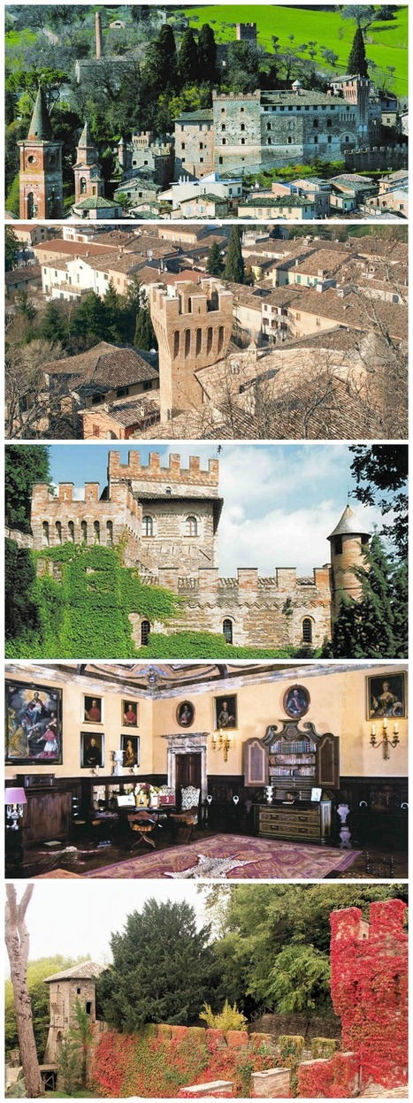 Castello Pallotta, Caldarola: a new internet site to book your visit | Holidays in Marche | Scoop.it