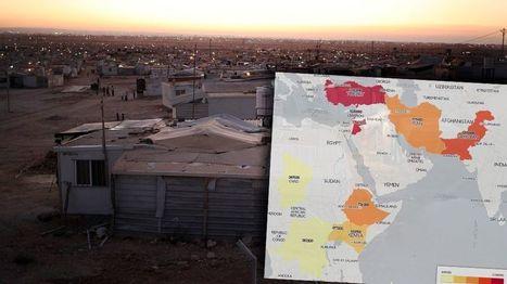 Dix pays accueillent plus de la moitié des réfugiés dans le monde   Enseigner l'Histoire-Géographie   Scoop.it
