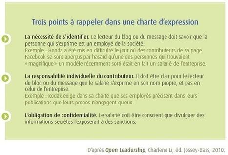 Fixer un cadre à l'expression des salariés sur les réseaux sociaux | Réseaux Sociaux d'Entreprise et conduite du changement | Scoop.it