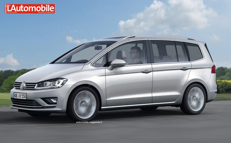 Volkswagen Touran 2015 - Finies les prolongations - Actualités - L'Automobile Magazine   Actualités Volkswagen   Scoop.it