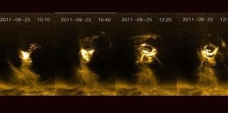Une tempête solaire plus grosse que la Terre! | Merveilles - Marvels | Scoop.it