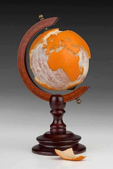 The Orange Globe | Geography Education | Scoop.it