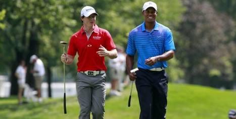 Woods et McIlroy sont dans un bateau... | Nouvelles du golf | Scoop.it
