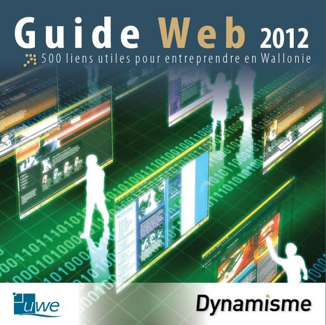 Guide Web de l'entrepreneur wallon (édition 2012) | Time to Learn | Scoop.it
