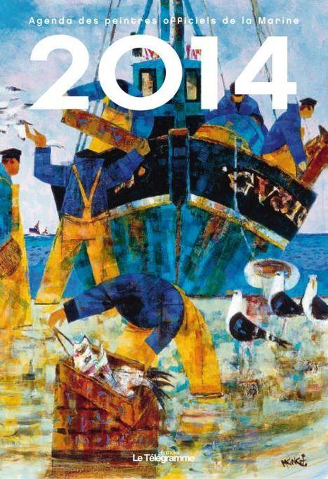 AGENDA DES PEINTRES OFFICIELS DE LA MARINE 2014, 144 pages, 17 x 24 cm, relié, 12,50 € | Editions Sud Ouest | Scoop.it